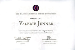 Val Jenner now certified to offer online sessions